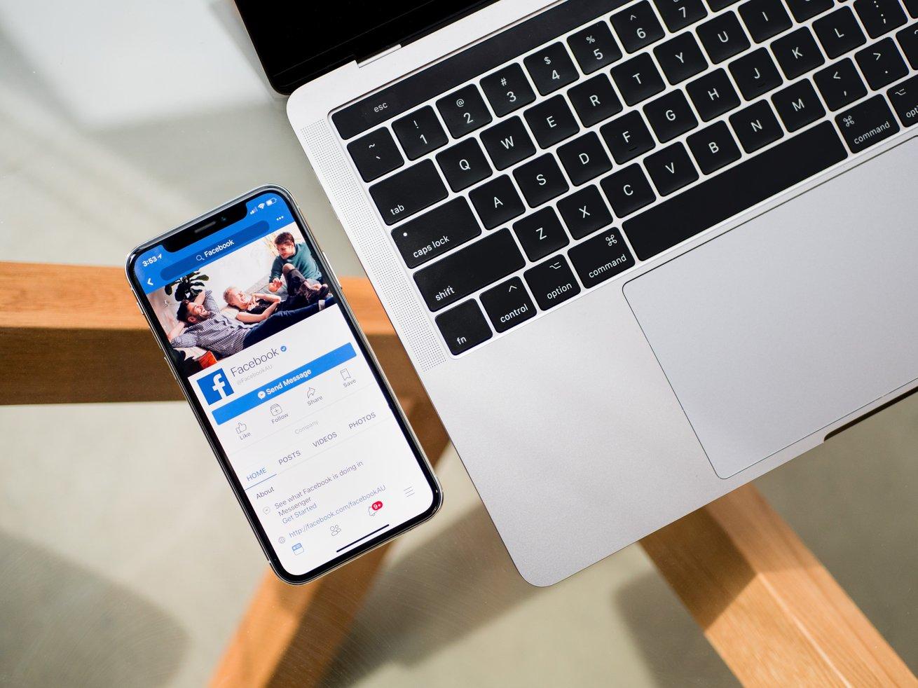 facebook mobile ordinateur